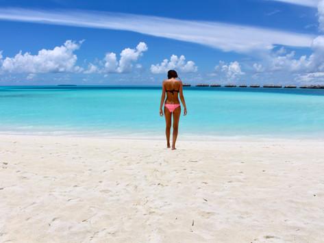 Take me back to the Maldives, please