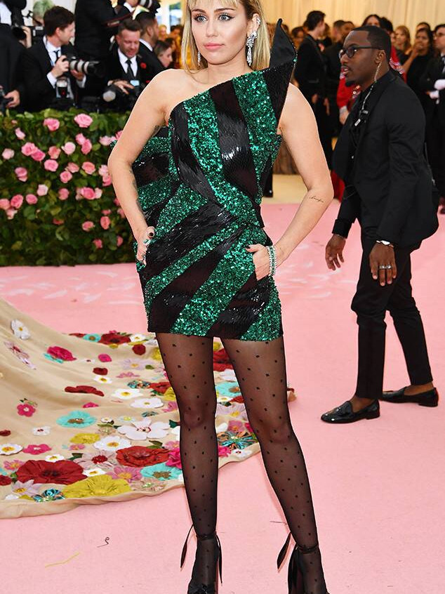 Miley Cyrus in Saint Laurant