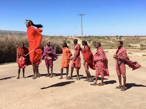 Visiting a Masai Village   Kenya