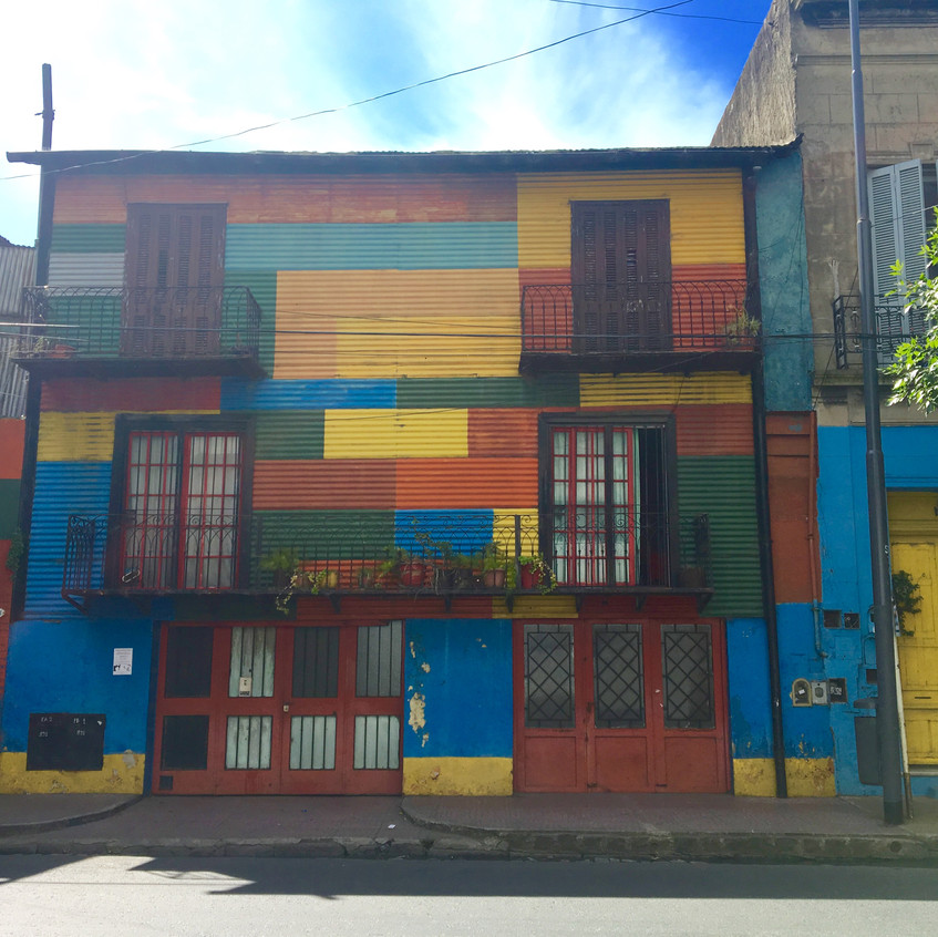 La Boca, El Caminito, Buenos Aires, Argentina, Randomly Blogging Around