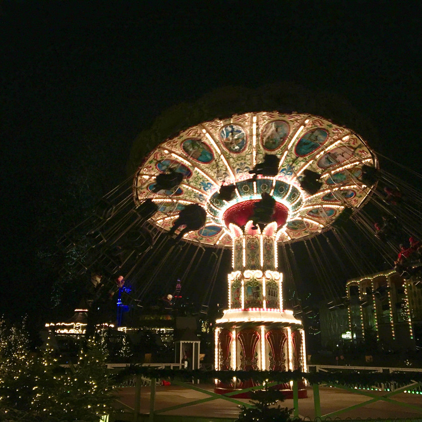 Tivoli Gardens, Copenhagen, Randomly Blogging Around