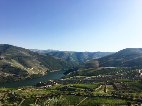 A weekend getaway - road trip to Douro Valley