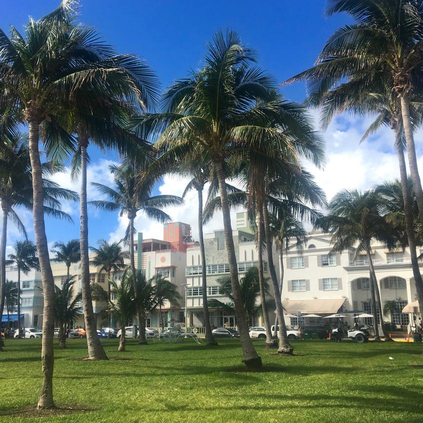 Art Deco District, Miami, Randomly Blogging Around