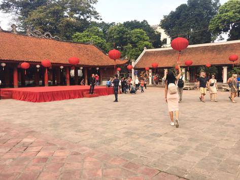 Hanoi - where Asia, Europe and America meet