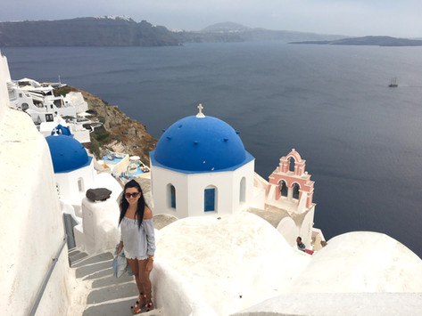 Breathtaking Santorini 💙