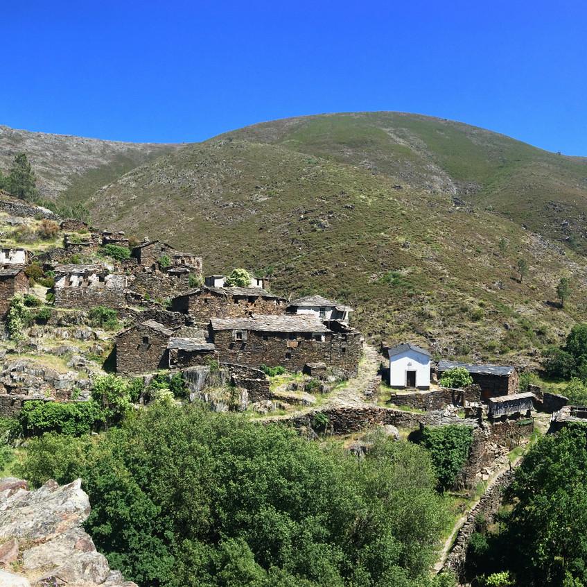 Drave, the abandoned village, Portugal, Randomly Blogging Around