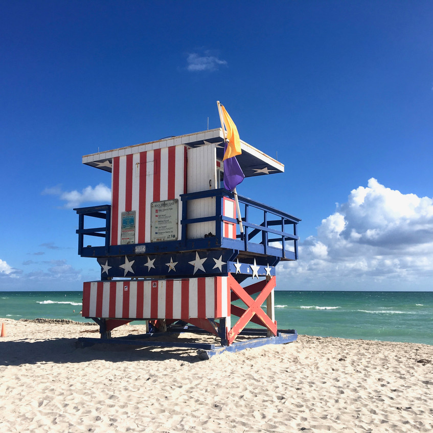 South Beach, Miami, Randomly Blogging Around
