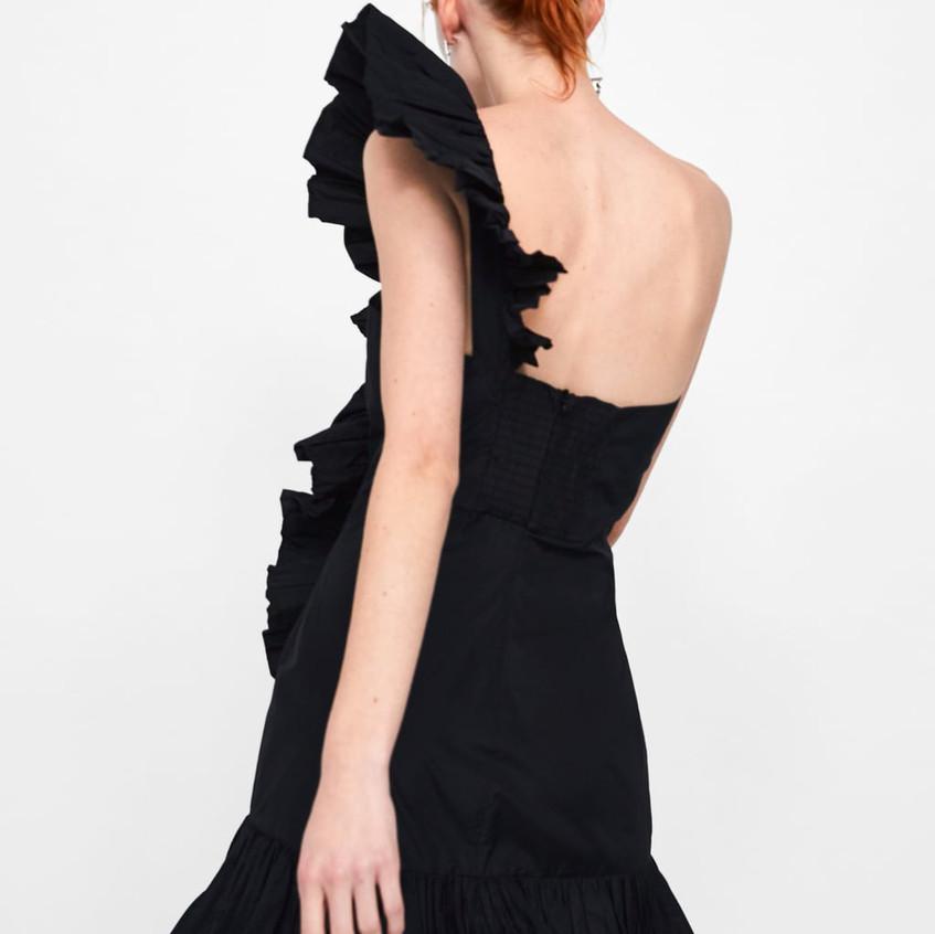 Mini Ruffled Dress
