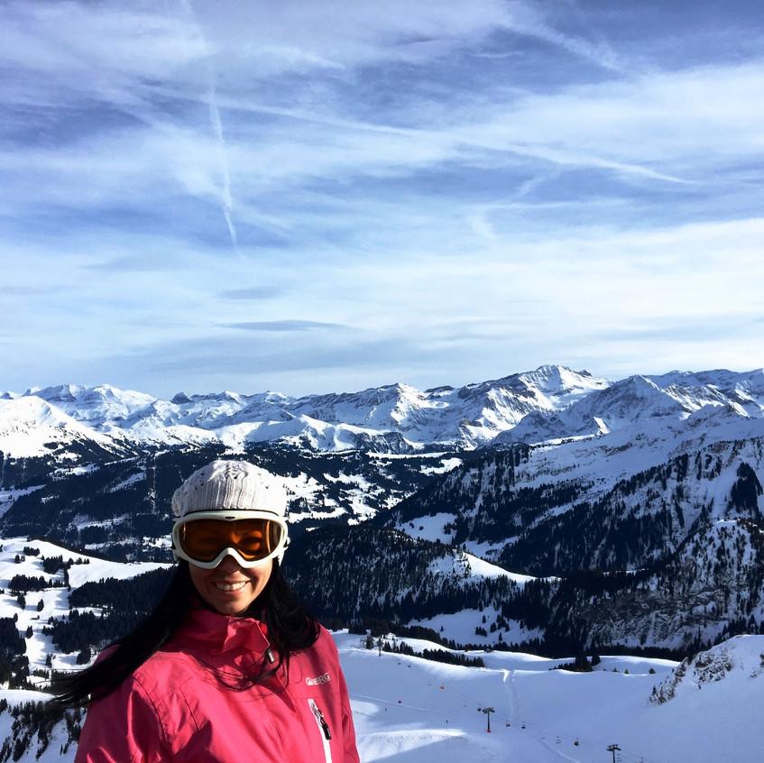 Gstaad, Switzerland, Randomly Blogging Around
