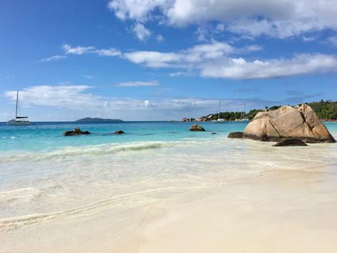 Treasure hunting at Praslin Island   Seychelles