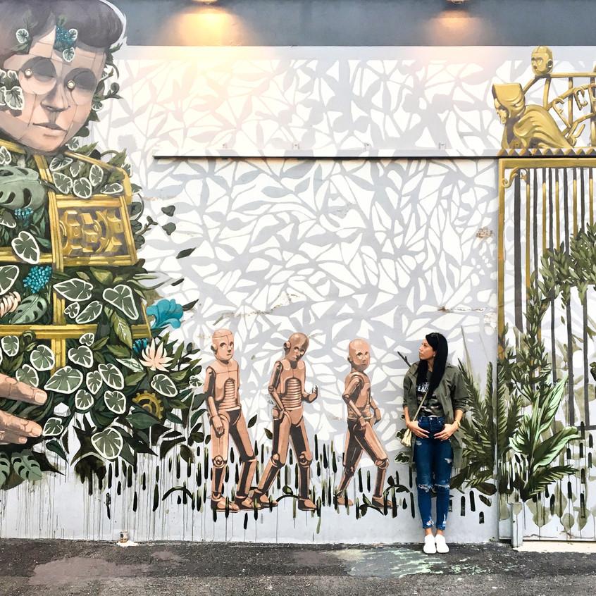 Wynwood Walls, Miami, Randomly Blogging Around