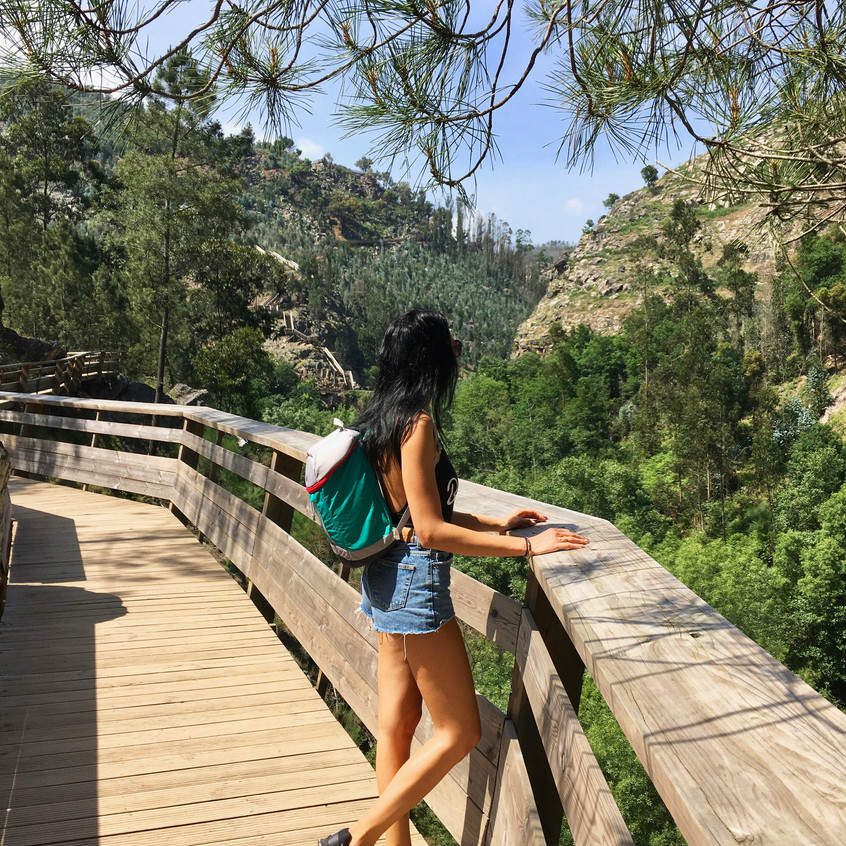 Paiva pathways, Portugal, Randomly Blogging Around