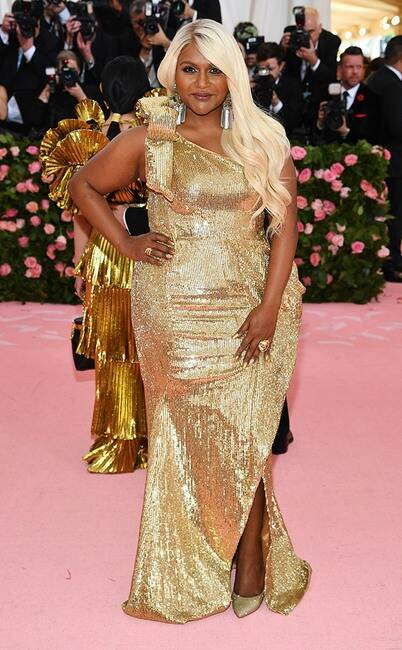 Mindy Kaling in Moschino