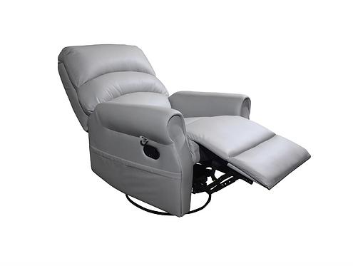 Кресло реклайнер механический+механизм качания (кресло качалка) ,  Augusta