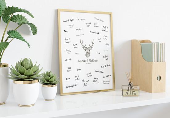 Guest Sign - Alba