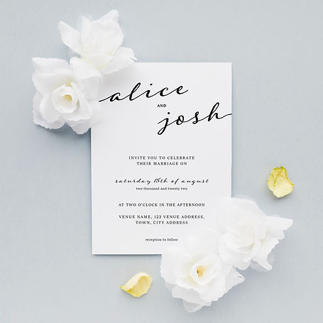 3608892 - Black and White Invites May 20