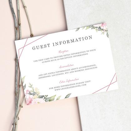 Pink Bloom Guest Information