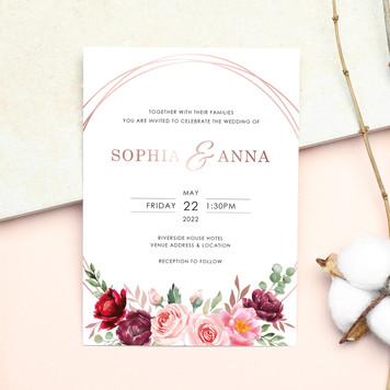 597 - Rose Gold Foil Ring - Website Crop