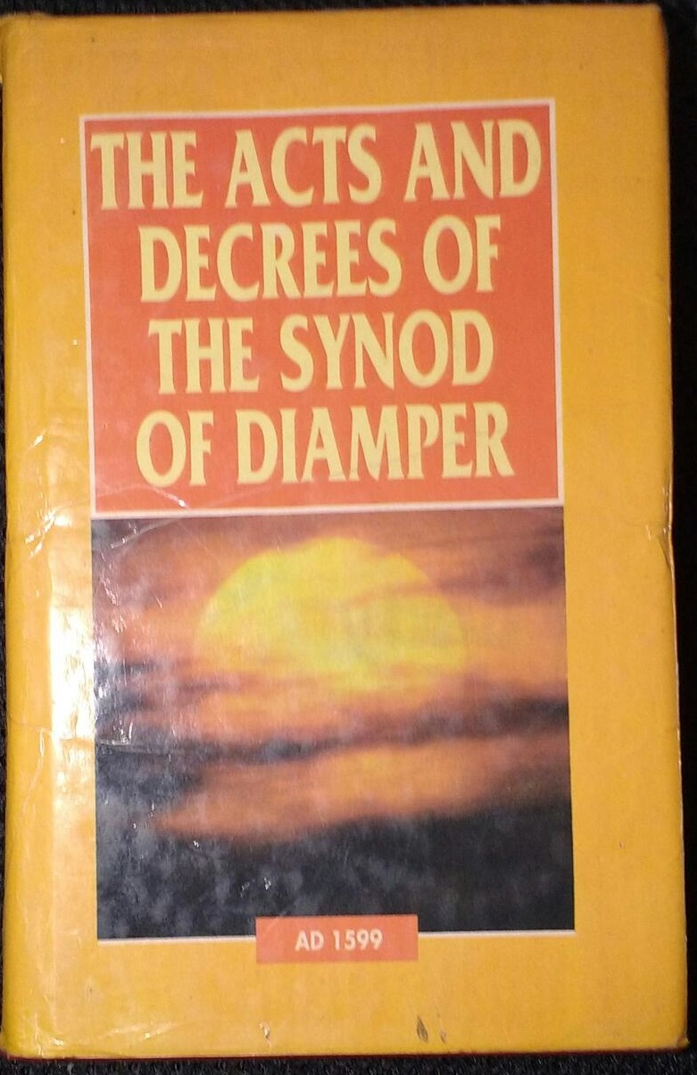 The Acts and Decrees of the Synod of Diamper