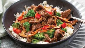 Beef Stir Fry with Cauliflower Rice