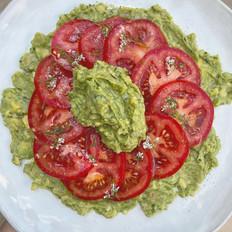 Tomato Salad with Guacamole