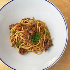 Spaghetti with Lamb Ragu