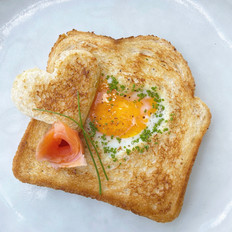 """Egg in a """"Heart"""" Hole"""