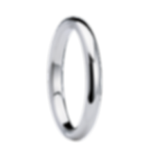alliance homme or blanc