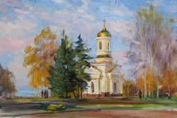 St. Nicolas Chapel in the Fall