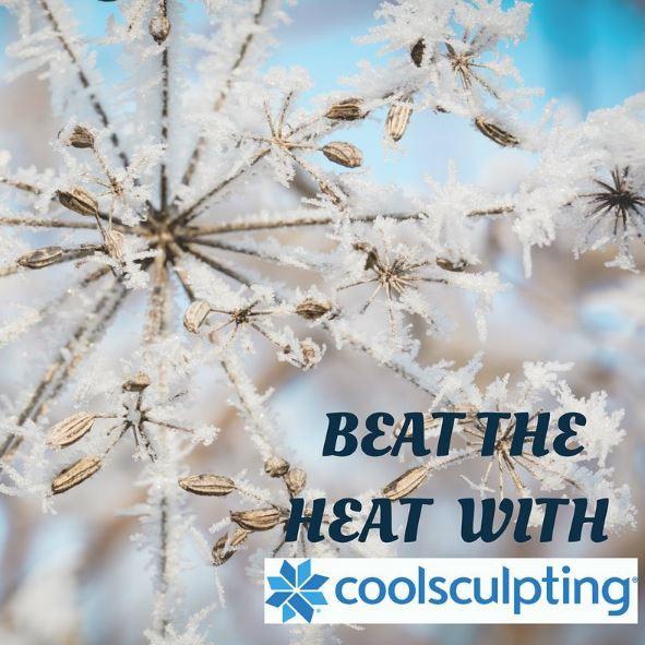 CoolSculpting beat the heat social media