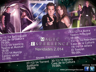 GIRA NAVIDEÑA 2.014 MAGIC EXPERIENCE