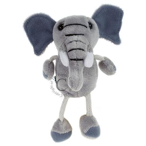 Éléphant - finger puppet