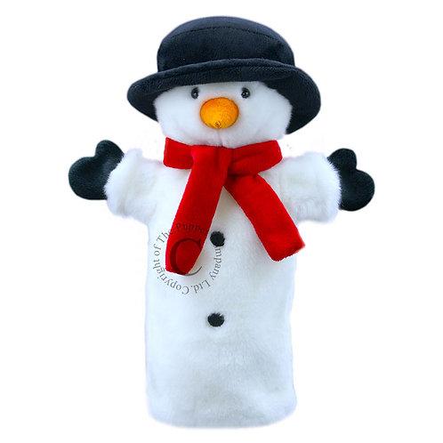 Bonhomme de neige - long-sleeved puppet