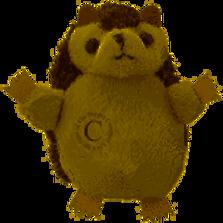 Hérisson - finger puppet