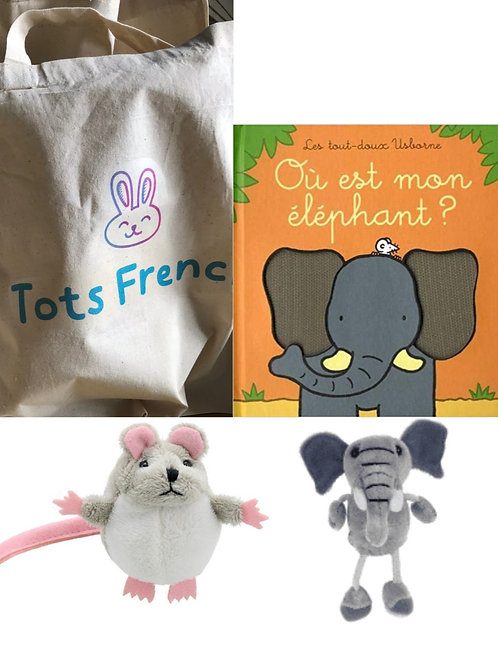Story sack: Où est mon éléphant?