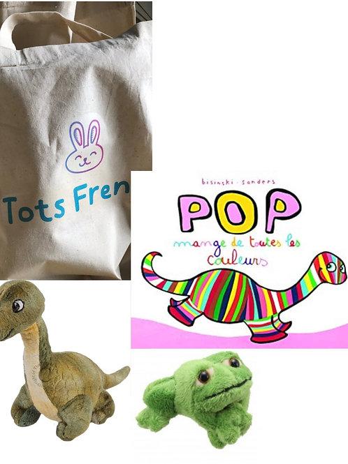 Story sack: Pop mange de toutes les couleurs
