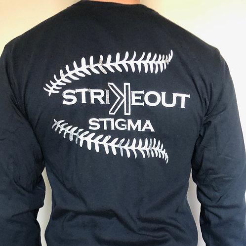 Strike Out The Stigma - Black