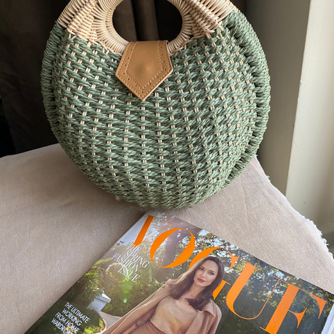 The Wickerball Bag as featured in Vogue