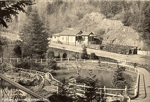 Historical Records - A2004-002.3593   View of Washington Park from the SW Washington St e
