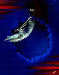 Ange bleue
