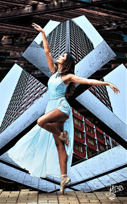 Ballerine urbaine