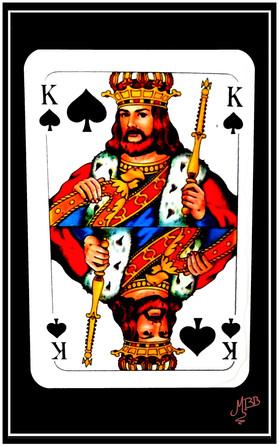 David, Roi de pique