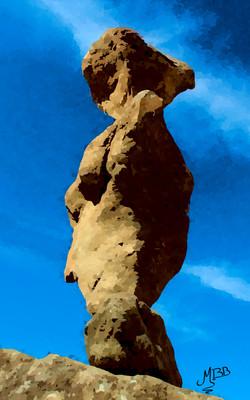 Stone stacking