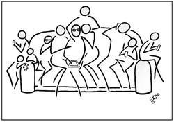 Canape en famille