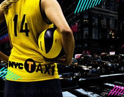 Yellow ball NYC