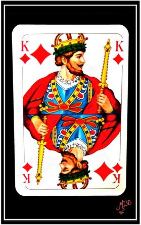 César, Roi de carreau
