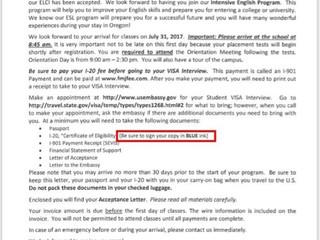 美國F-1學生簽證申請方式
