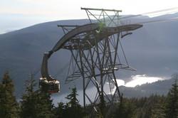 Gondola Vancouver Grouse Mountain