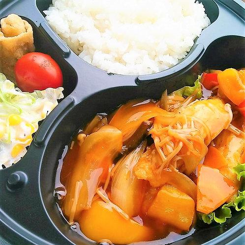 10月4日(金)とろ〜り!白身魚の中華甘酢あんかけ弁当