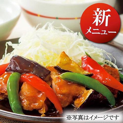 11月1日(金)たっぷり野菜と地鶏の中華黒酢あんかけ弁当